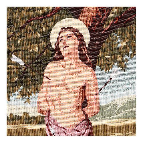 Tapisserie Saint Sébastien 40x30 cm 2