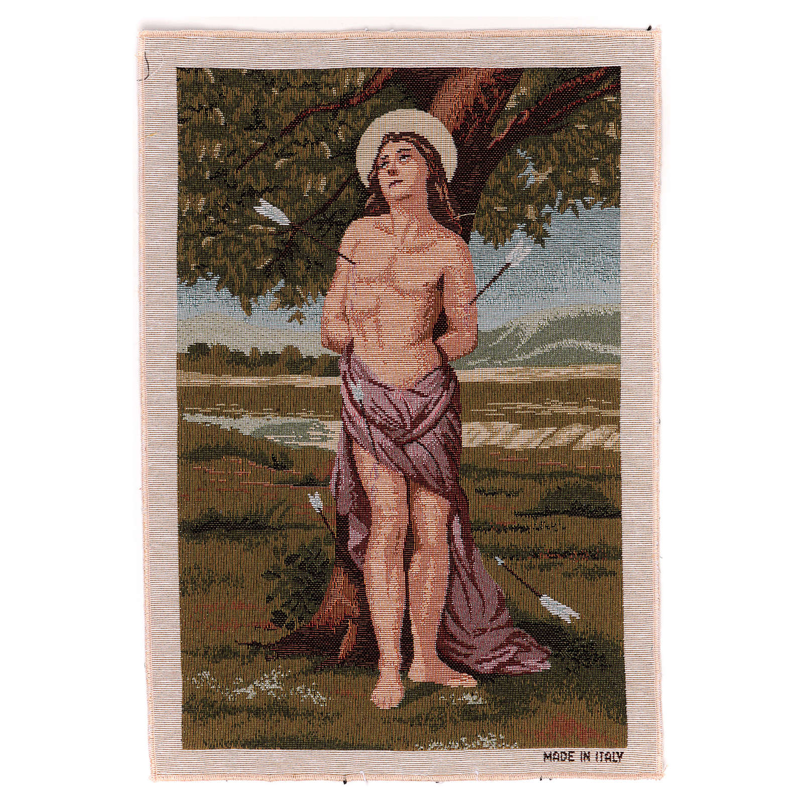 Arazzo San Sebastiano 45x30 cm 3