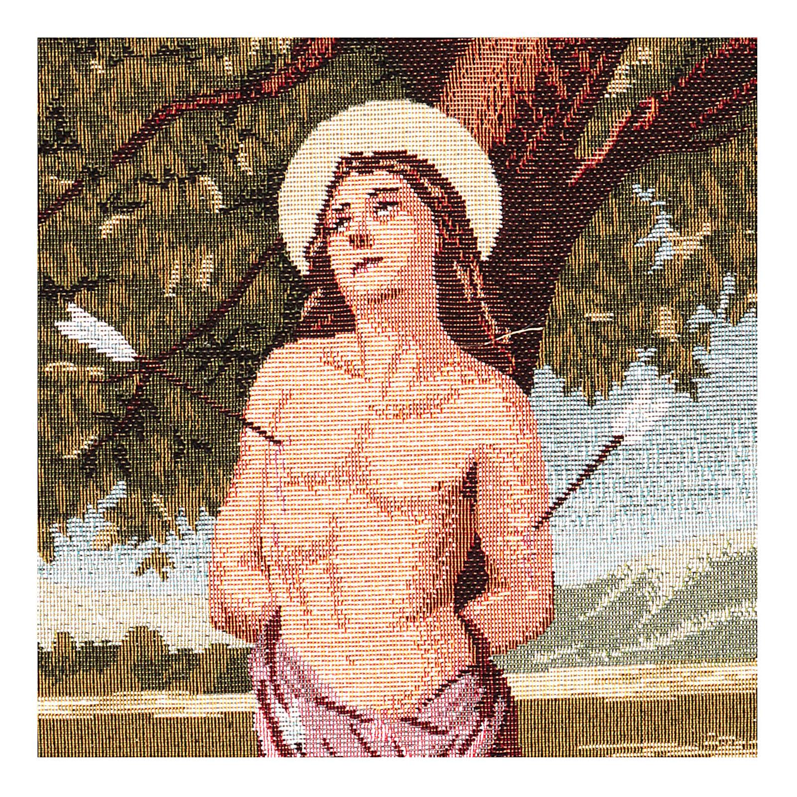 Saint Sebastian tapestry 12x17.7