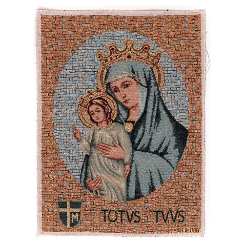 Totus Tuus tapestry 40x30 cm 1