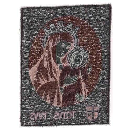 Totus Tuus tapestry 40x30 cm 3