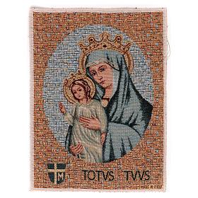 Arazzo Totus Tuus 40x30 cm s1