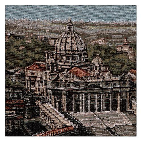 Arazzo Piazza San Pietro 45x60 cm 2