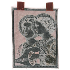 Musical Angels tapestry with frame and hooks 50x30 cm s3