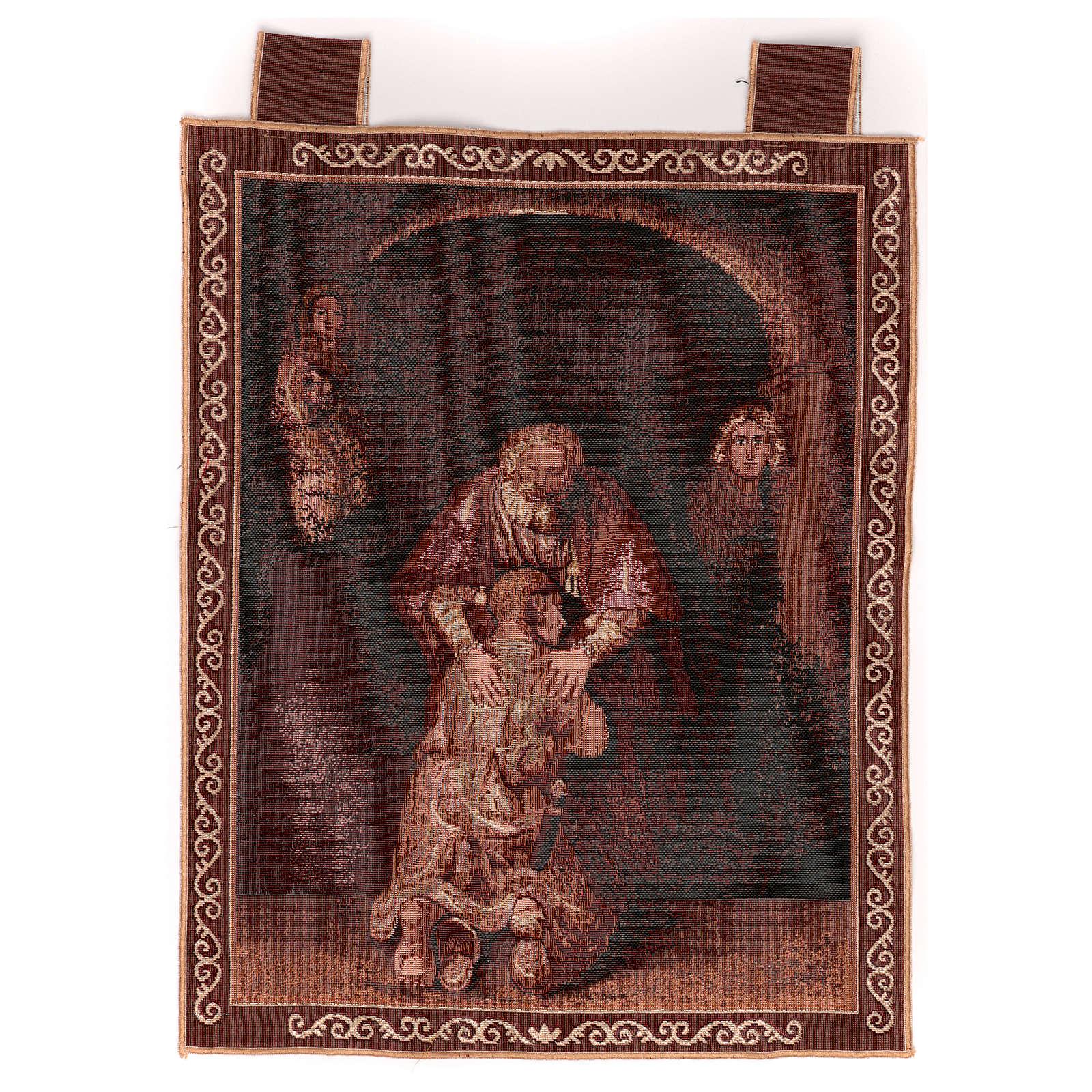 Tapiz Hijo Pródigo marco ganchos 50x40 cm 3