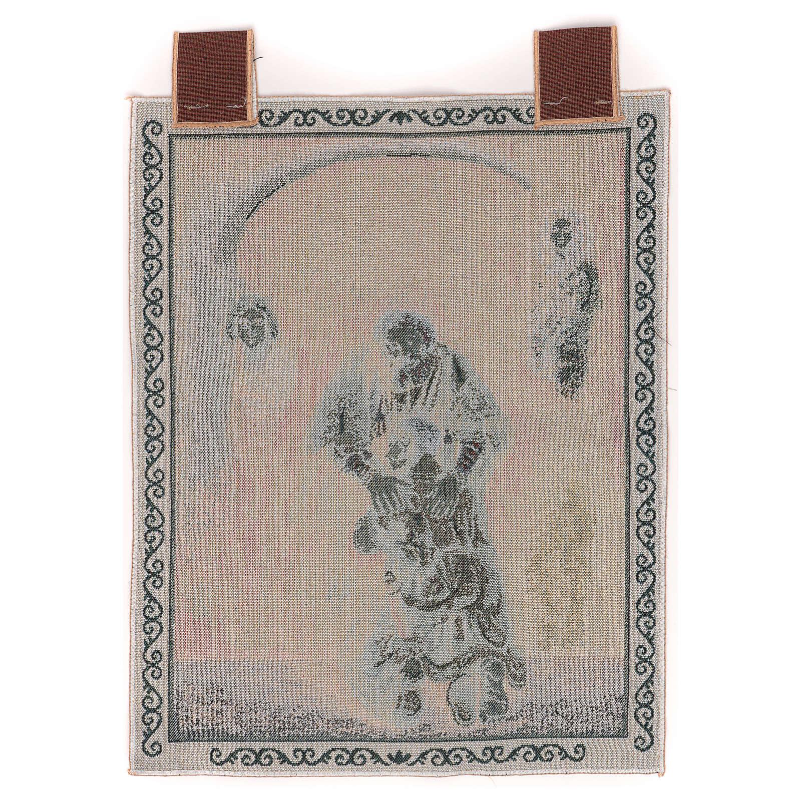 Arazzo Figliol Prodigo cornice ganci 50x40 cm 3
