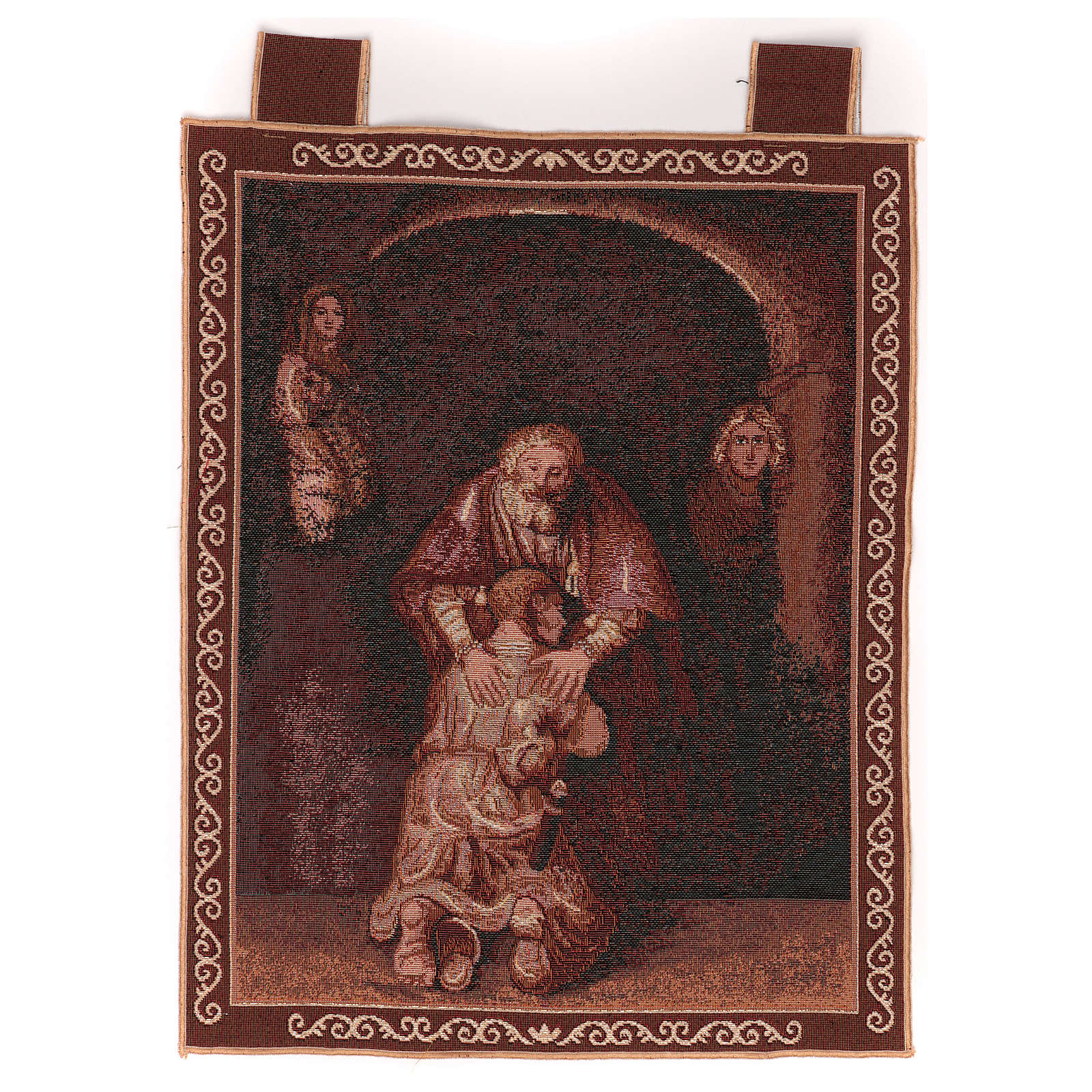 Prodigal son wall tapestry with loops 19x15