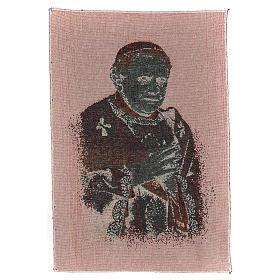 Arazzo nero Papa Benedetto XVI 40x30 cm s3