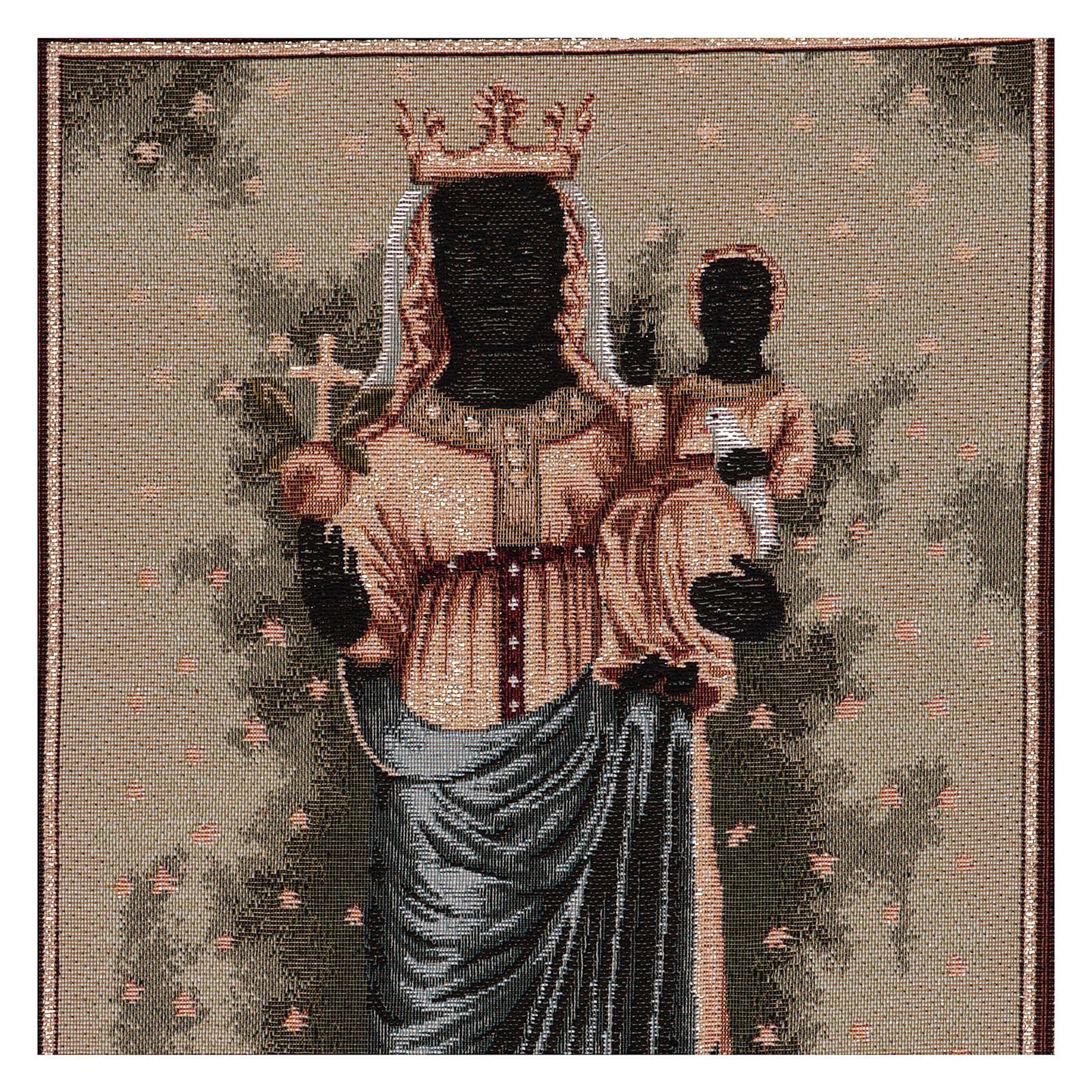 Arazzo Madonna D'Oropa 50x40 cm 3