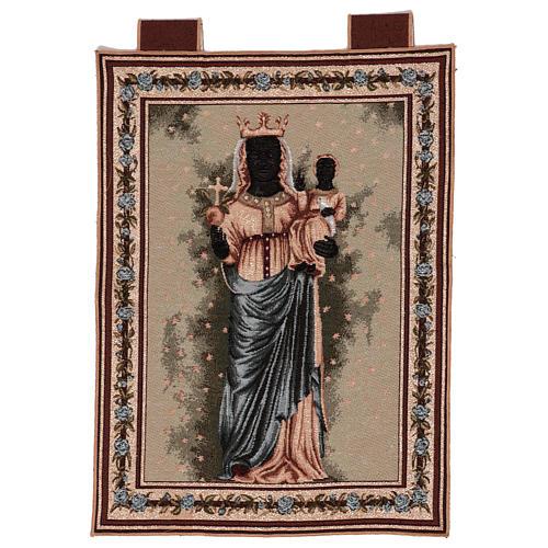 Arazzo Madonna D'Oropa 50x40 cm 1