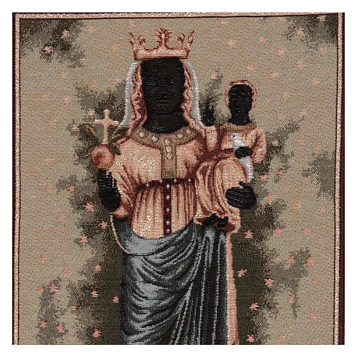 Arazzo Madonna D'Oropa 50x40 cm 2