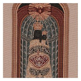 Arazzo Madonna di Loreto 50x30 cm s2