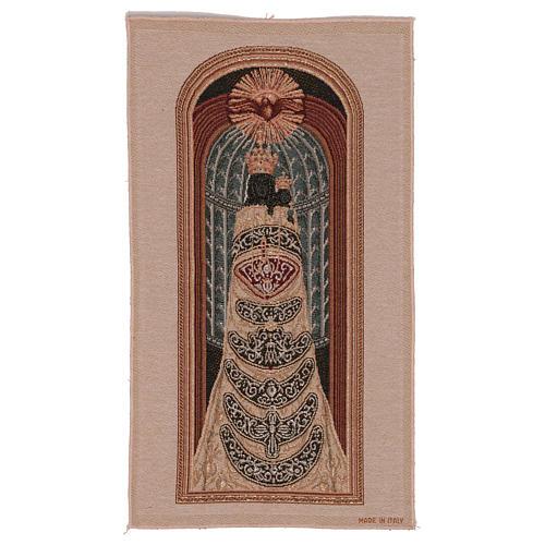 Arazzo Madonna di Loreto 50x30 cm 1