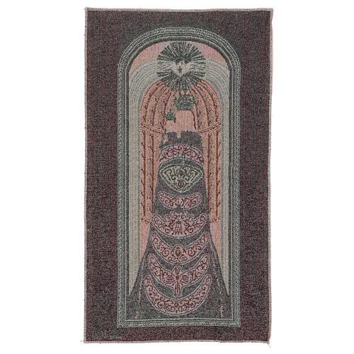 Arazzo Madonna di Loreto 50x30 cm 3