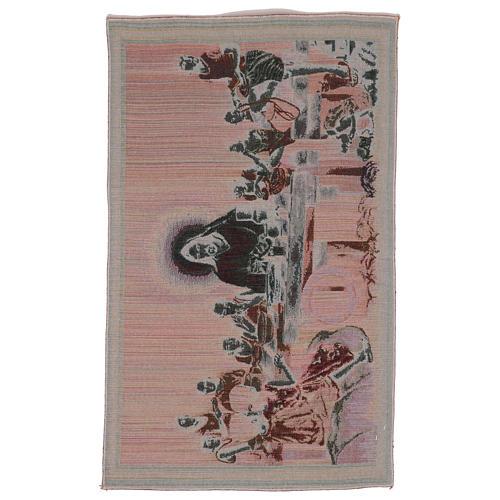 The Last Dinner tapestry 40x60 cm 3