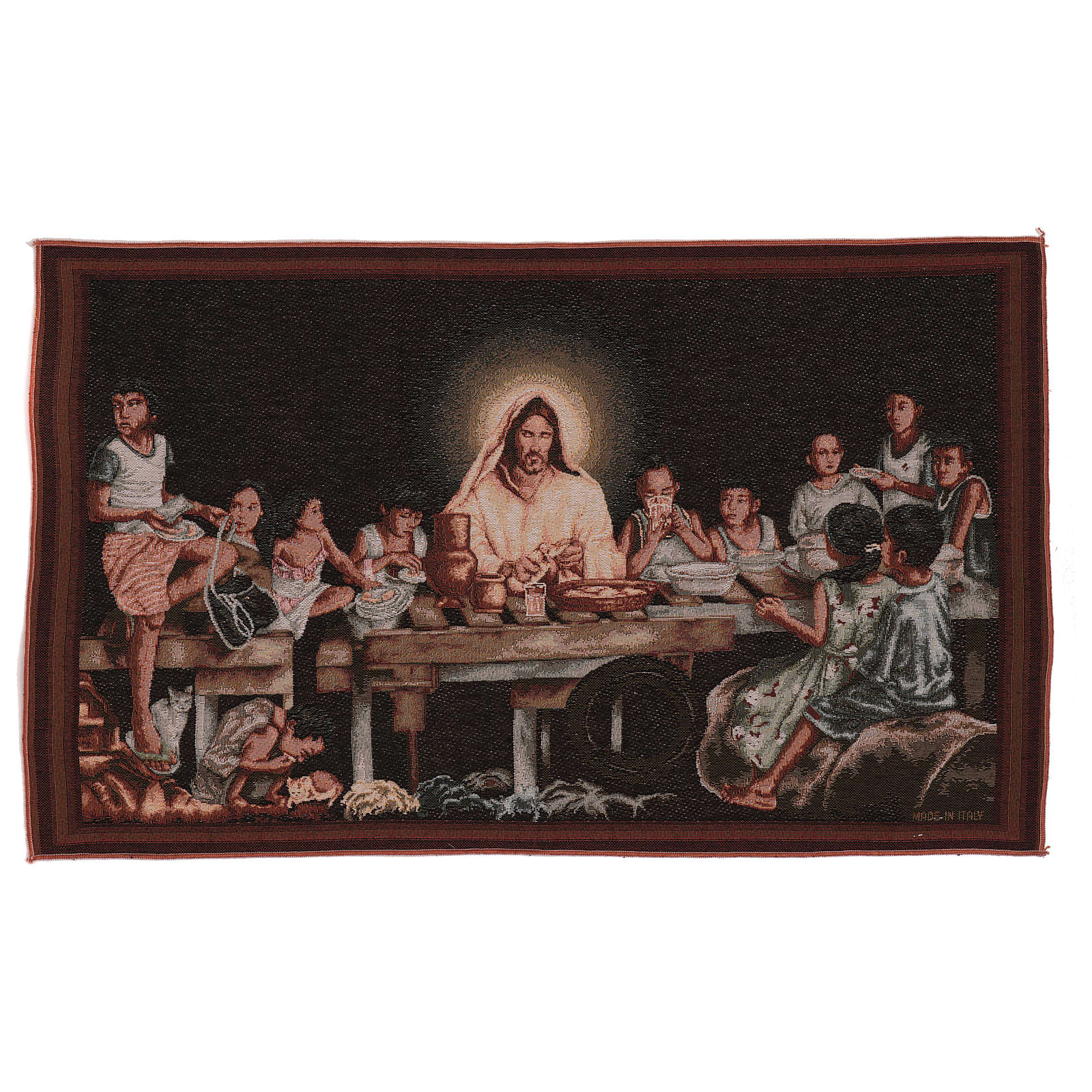 Last supper tapestry 15x25