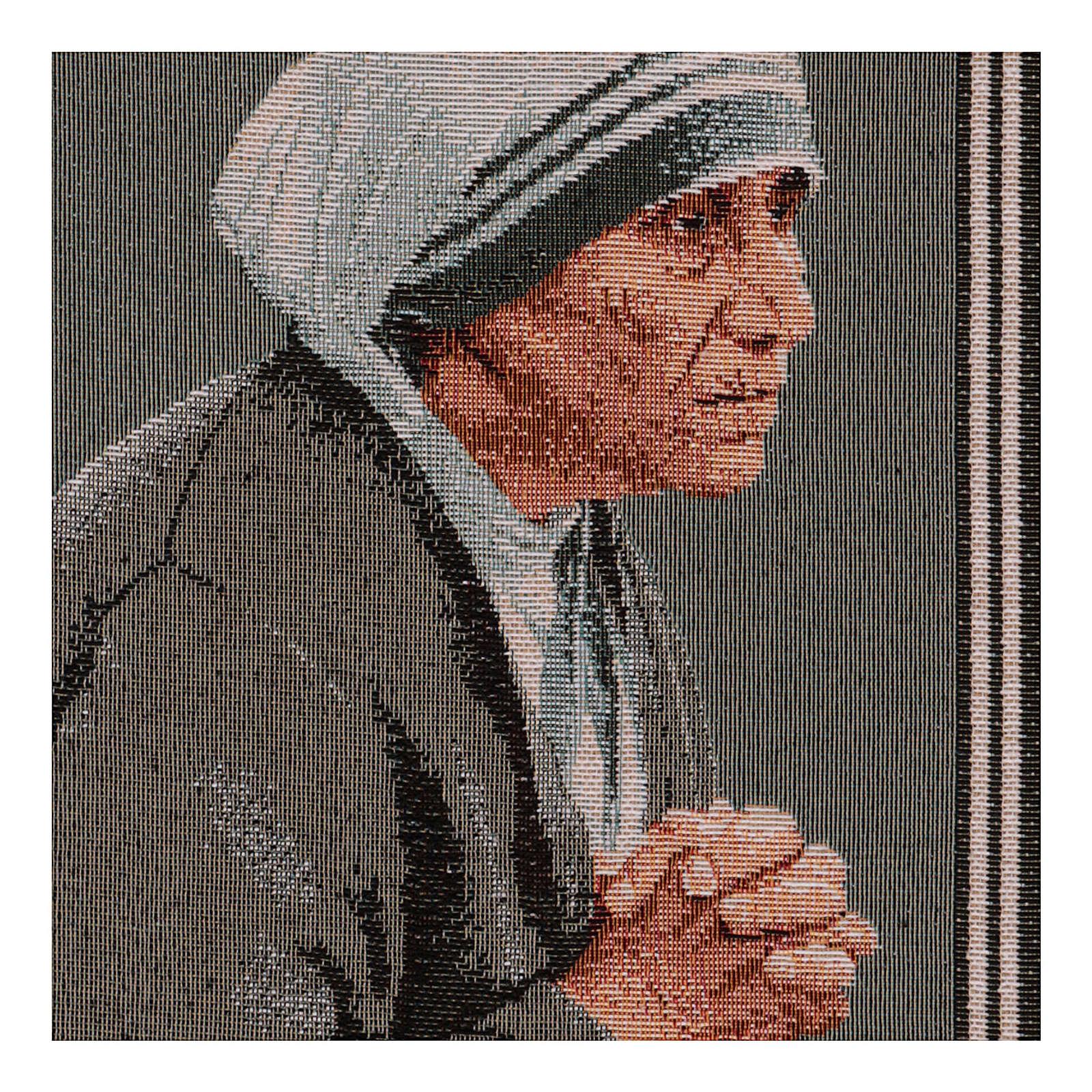Arazzo Madre Teresa 40x30 cm 3