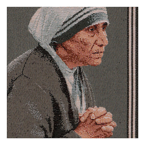 Arazzo Madre Teresa 40x30 cm 2