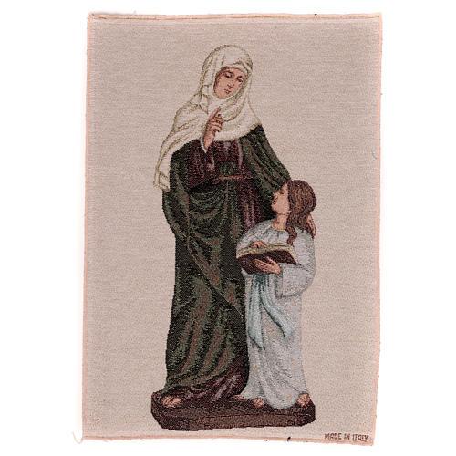 Arazzo S. Anna e Maria Bambina 40x30 1