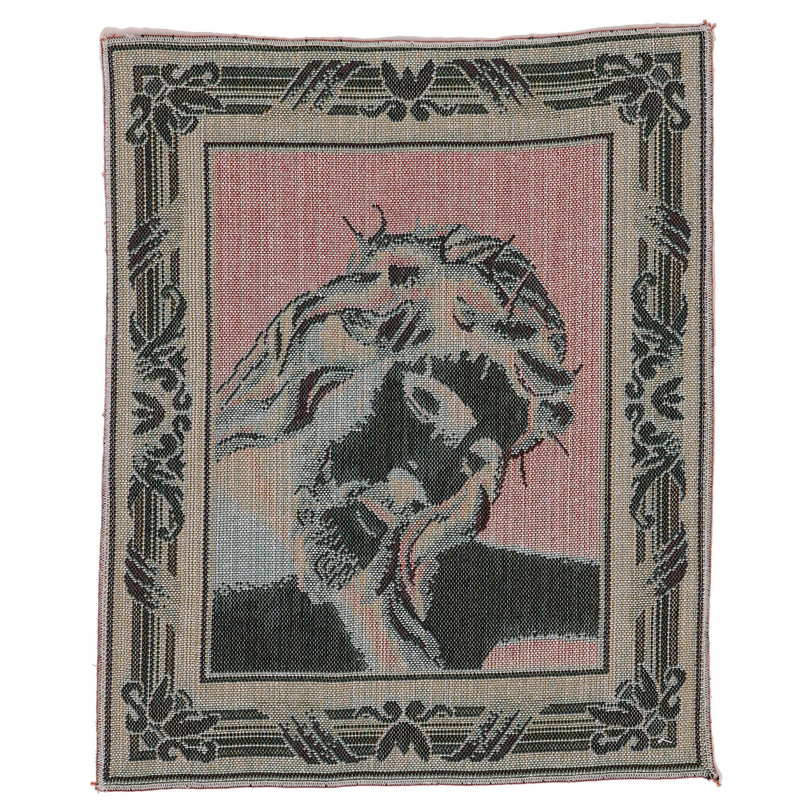 Gobelin Oblicze Chrystusa z Koroną Cierniową 40x30 cm 3