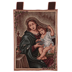 Arazzo Madonna dell'Uva 50x40 cm s1