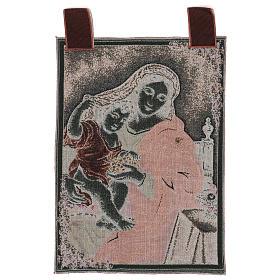Arazzo Madonna dell'Uva 50x40 cm s3
