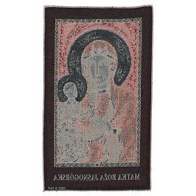 Arazzo Madonna Nera di Czestochowa 50x30 cm s3