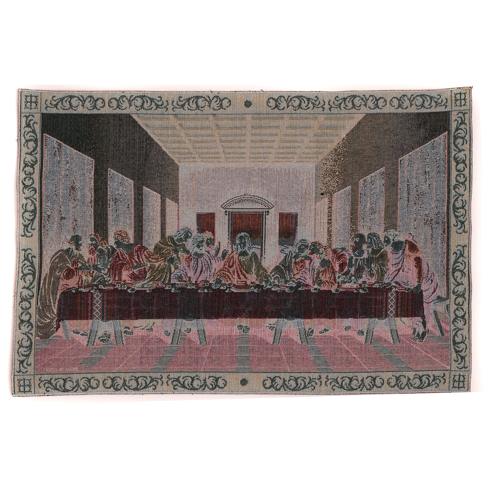 The Last Dinner tapestry with frame 40x60 cm 3