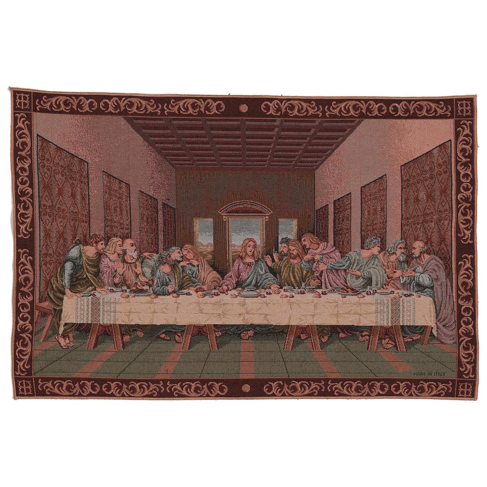 Tapiz Última Cena marco 40x60 cm | venta online en HOLYART