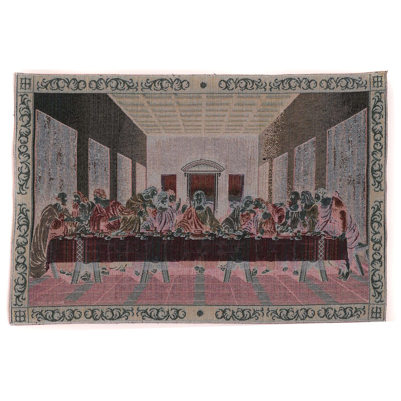 Arazzo Ultima Cena cornice 40x60 cm 3