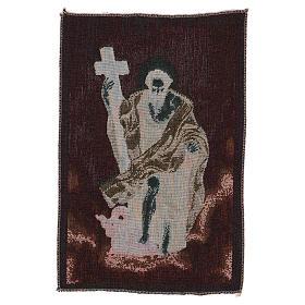 Wandteppich Apostel Philippus 40x30 cm s3