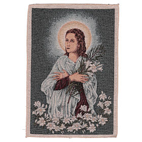 Saint Maria Goretti tapestry 40x30 cm s1