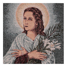 Saint Maria Goretti tapestry 40x30 cm s2