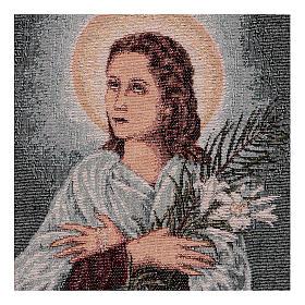 Tapiz Santa María Goretti 40x30 cm s2