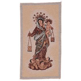 Arazzo Madonna del Carmelo 50x30 cm s1