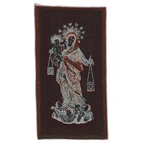 Arazzo Madonna del Carmelo 50x30 cm s3