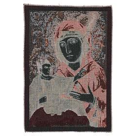 Wandteppich Allerseligste Jungfrau vom heiligen Lukas 40x30 cm s3