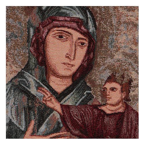 Wandteppich Allerseligste Jungfrau vom heiligen Lukas 40x30 cm 2