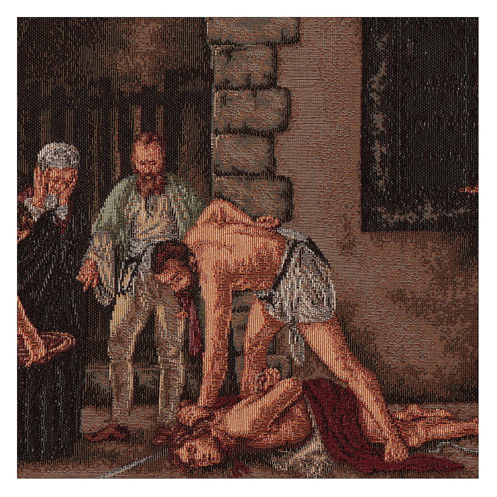 Wandteppich Enthauptung Johannes des Täufers 30x55 cm 3