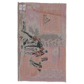 Wandteppich Enthauptung Johannes des Täufers 30x55 cm s3