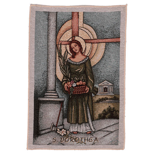 Arazzo San Dorothea 40x30 cm 1