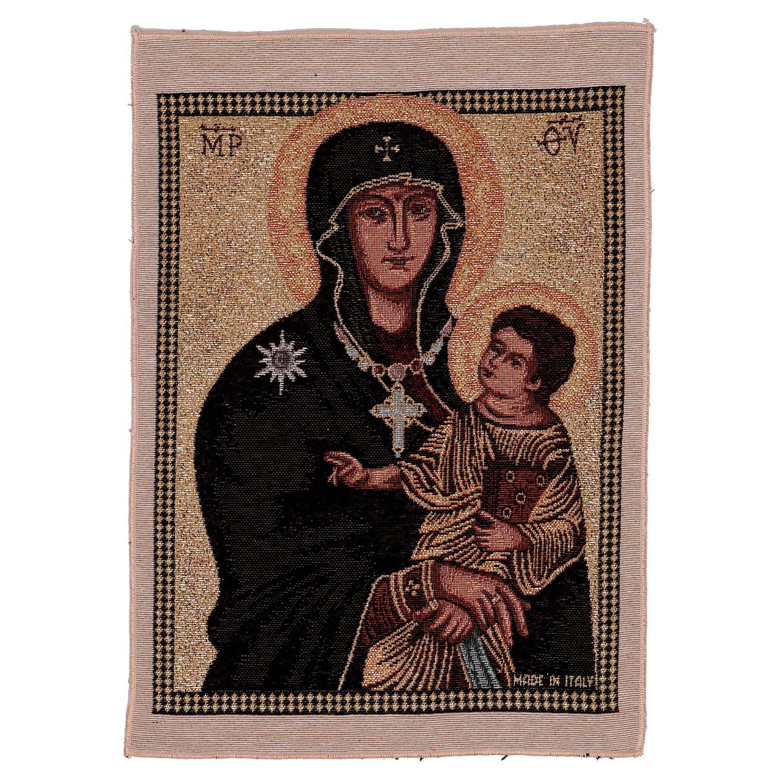 Arazzo Madonna ad Nives 40x30 cm 3