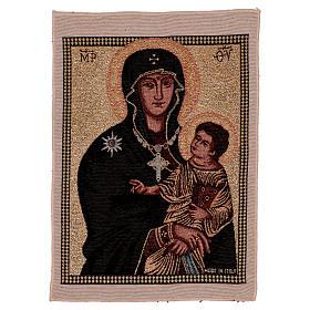 Arazzo Madonna ad Nives 40x30 cm s1