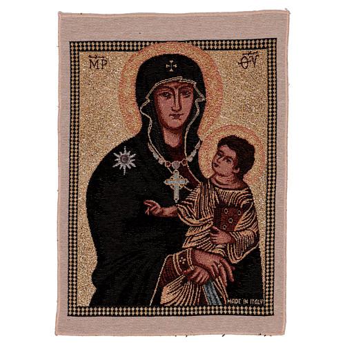 Arazzo Madonna ad Nives 40x30 cm 1