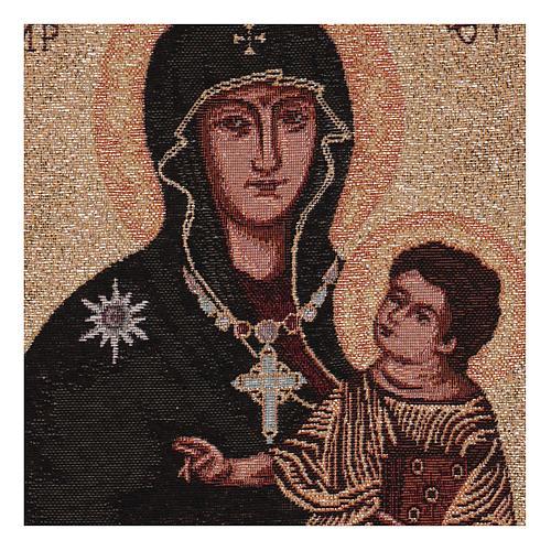 Arazzo Madonna ad Nives 40x30 cm 2