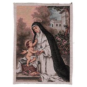 Saint Rose of Lima tapestry 40x30 cm s1