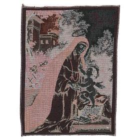Saint Rose of Lima tapestry 40x30 cm s3