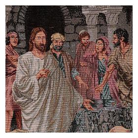 Arazzo Annunzio del Regno dei Celi 40x30 cm s2
