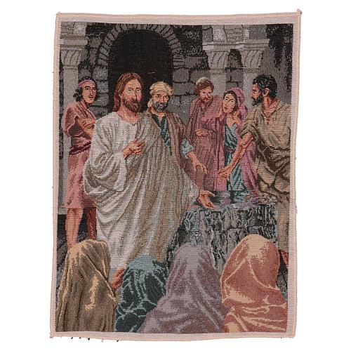 Arazzo Annunzio del Regno dei Celi 40x30 cm 1