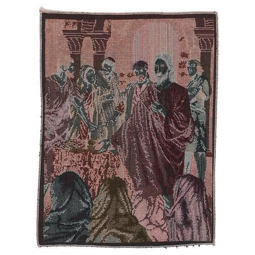 Arazzo Annunzio del Regno dei Celi 40x30 cm 3